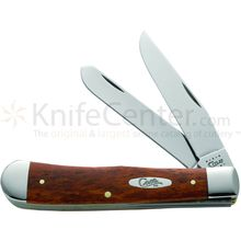 Case Smooth Chestnut Bone Trapper 4-1/8 inch Closed (6254 SS)