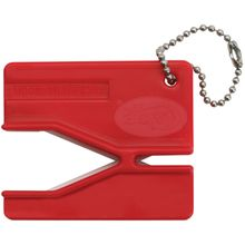 Case XX Keychain Pull Through Sharpener, Red