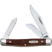 Case Medium Stockman Working Pocket Knife 3-1/4 inch Closed (6344 SS)