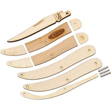 Case Wooden Pocket Knife Kit, Toothpick, Gift Box/Tin
