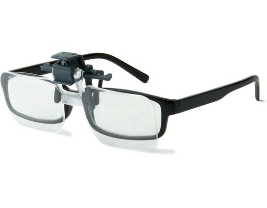 Carson Optical CF-10 Clip and Flip Magnifying Lenses for Eyeglasses