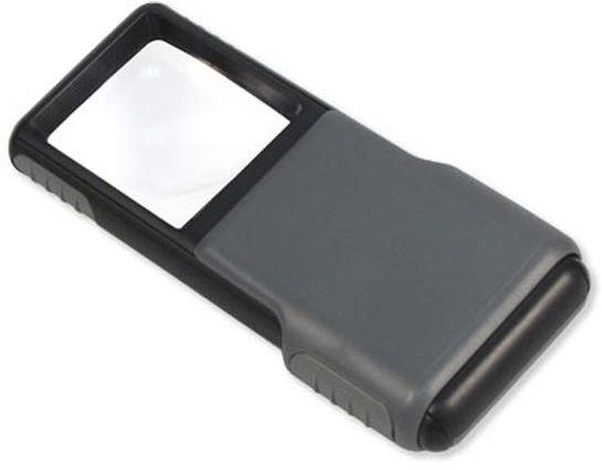 Carson Optical PO-55 MiniBrite Pocket Magnifier with LED Light
