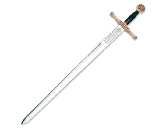 Art Gladius Excalibur Gold Trim