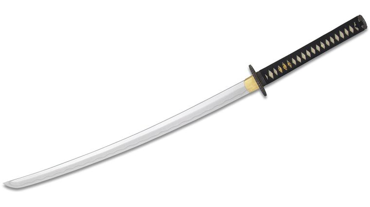 CAS Hanwei Practical Plus Elite Katana 28 inch High-Carbon Blade