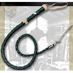 Brown Leather Bullwhip 40 inch Long Whip