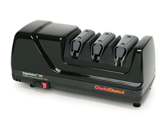 Chef's Choice EdgeSelect Deluxe 3 Stage Electric Diamond Sharpener Model 120B, Black