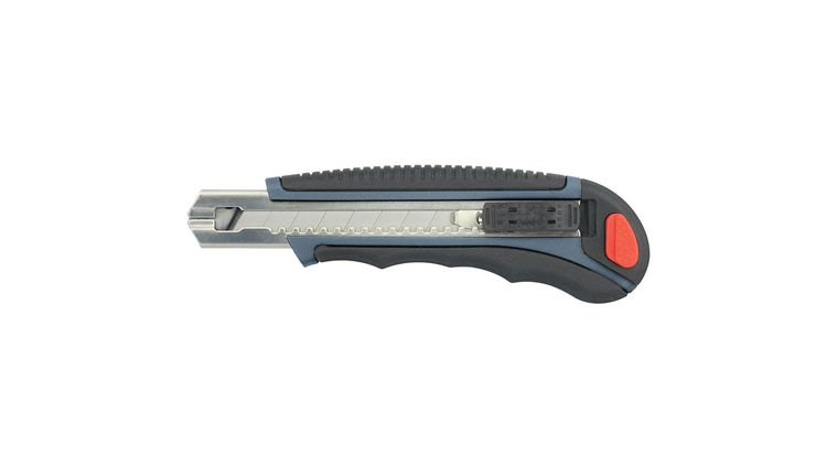 Clauss 8-Count Large Snap Blade Utility Knife Heavy-Duty, Includes 6 Blades