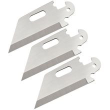 Cold Steel 40AP3B Click-N-Cut Plain Edge Utility Replacement Blades, 3 Pack