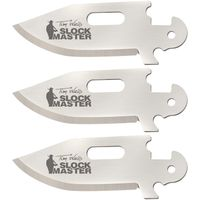 Cold Steel 40AP3G Click-N-Cut Tim Wells Clip Point Replacement Blades, 3 Pack