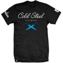 Cold Steel TJ5 Men's Black T-Shirt - Cross Guard, XXL