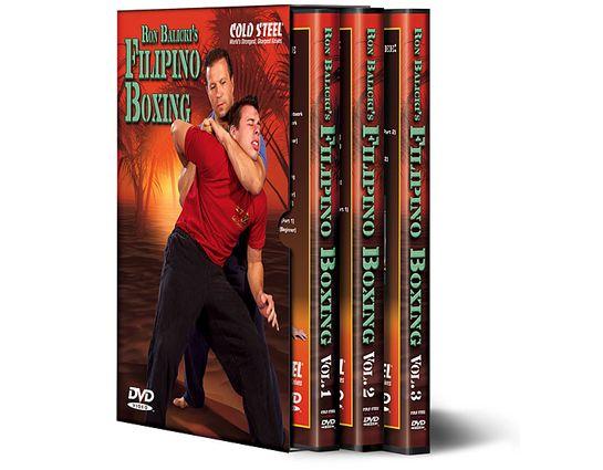 Cold Steel Ron Balicki's Filipino Boxing Training DVD's