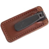 Concord Executive Nail Clipper, Tan Italian Leather Case