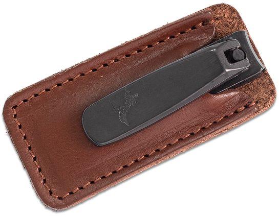 Concord Executive Nail Clipper, Tan Italian Leather Case