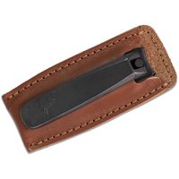 Concord Executive Toe Nail Clipper, Tan Italian Leather Case