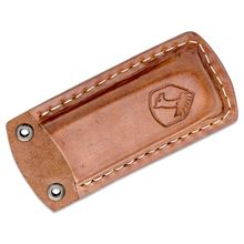 Condor Tool & Knife CTK2834 Folding Knife Belt Sheath, Welted Leather