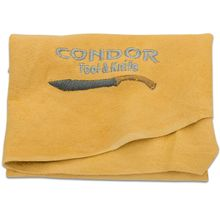 Condor Tool & Knife Genuine Leather Polishing Chamois Cloth