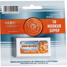 Merkur Double Edge Razor Blades 10 Pack