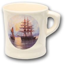 Colonel Conk #115S Ship Shave Mug