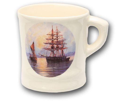 Colonel Conk #115S Ship Shave Mug