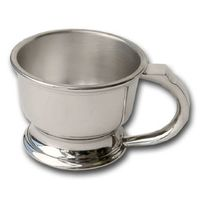 Colonel Conk Pewter Shaving Mug Fits Large or Small Soaps