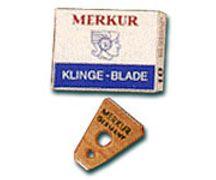 Replacement blades for Merkur Eyebrow/Moustache Razor