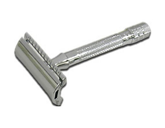 Merkur Double Edge Three Piece Safety Razor, 3 inch Long