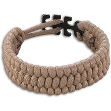 Columbia River CRKT 9400T Tom Stokes Adjustable Paracord Bracelet, Tan