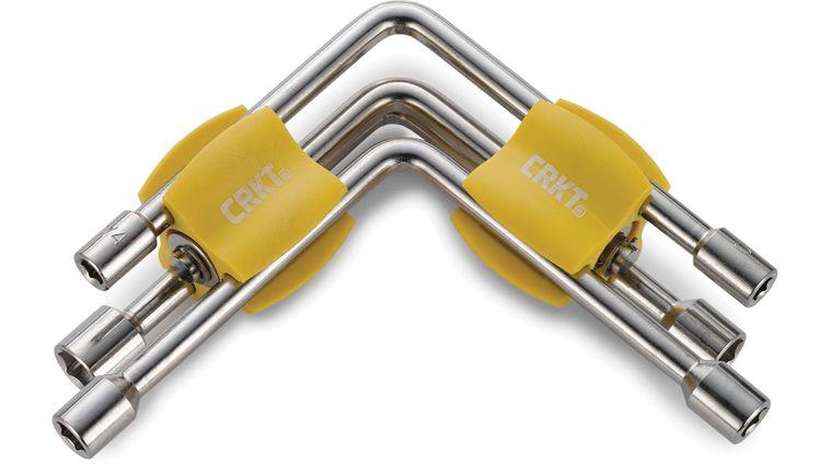 Columbia River CRKT Ryan Glasgow 9904 Twist and Fix Socket Tool