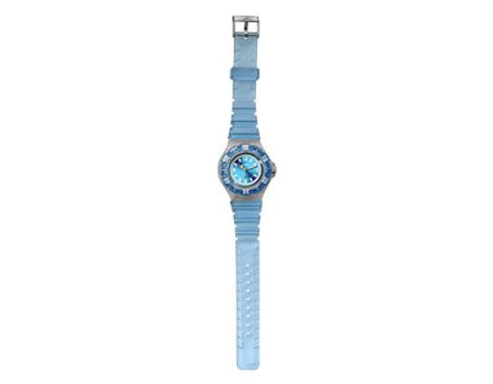 Dakota Watch Company Jelly, Blue Dial, Blue Jelly Bezel & Strap