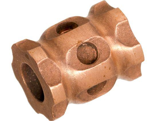 Darrel Ralph Designs Blasted Copper L1 Lanyard Bead