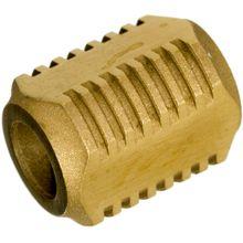 Darrel Ralph Designs Blasted Brass L2 Lanyard Bead