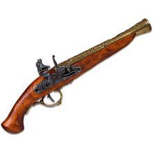 Denix Reproduction 18th Century German Flintlock Replica Pistol