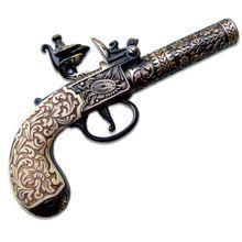 Denix Reproduction 1795 London Flintlock Pocket Pistol