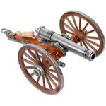 Denix Miniature 1857 American Civil War  inchNapoleon inch Cannon, Metal and Wood