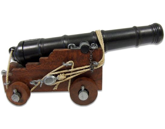 Denix Miniature 18th Century British Naval Cannon