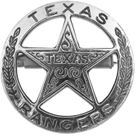 Denix Replica Texas Rangers Badge