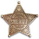 Denix Replica Lincoln County Sheriff's Badge