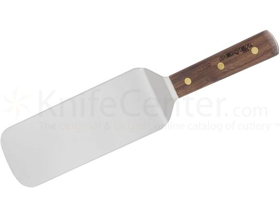 Dexter Cake Turner Walnut Handle 14 inch Overall Length Spatula, Made in the USA