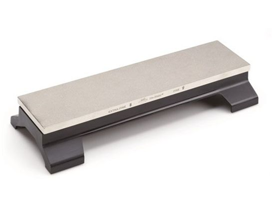 DMT D12EF-WB 12 inch DiaSharp Double Sided Bench Stone, Fine / Extra-Fine with Base