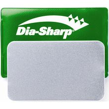 DMT D3E 3 inch Dia-Sharp Sharpener  inchCredit Card inch, Extra-Fine