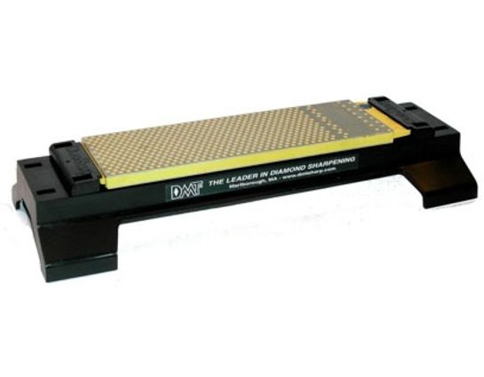DMT WM8FC-WB 8 inch DuoSharp Plus Bench Stone with Base, Fine/Coarse