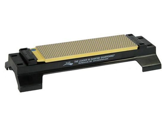 DMT W8EF-WB 8 inch DuoSharp Bench Stone with Base - Extra Fine / Fine