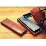 DMT W8X 8 inch Diamond Whetstone, Extra-Coarse with Hardwood Box