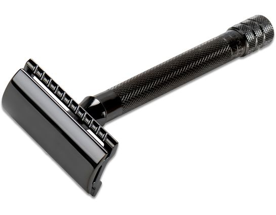 Merkur 23 Long Handle Double Edge Safety Razor 5 inch Long