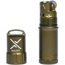 Exotac 5500 titanLIGHT Refillable Lighter, Waterproof, OD Green