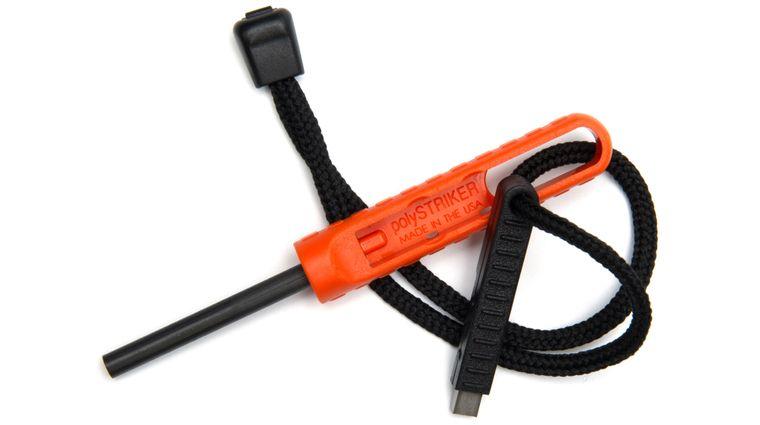 Exotac 1600 polySTRIKER Ultra-Portable Fire Starter, Orange
