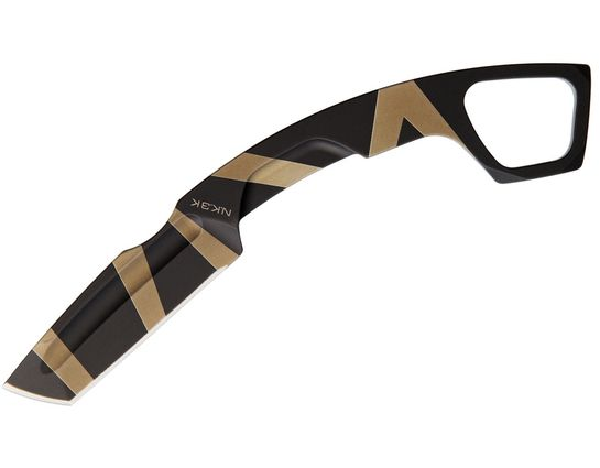 Extrema Ratio NK3 K Karambit-Style Neck Knife 2.75 inch Desert Warfare Tanto Blade, Kydex Sheath