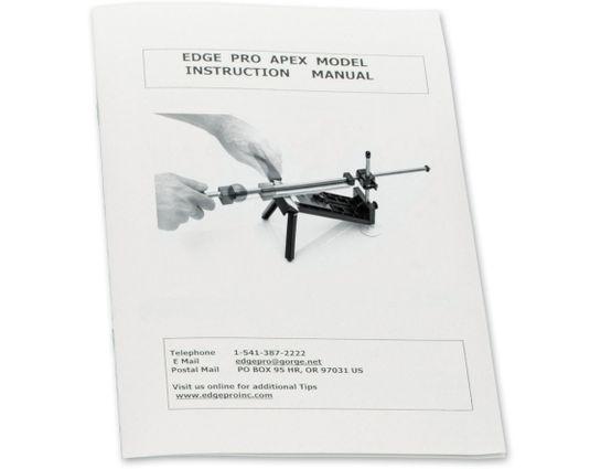 Edge Pro Apex Knife Sharpening System Manual