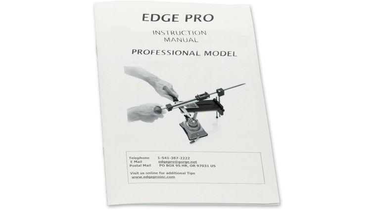 Edge Pro Professional Knife Sharpening System Manual