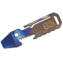EOS Titanium TiShark Pry Bar Multi-Tool, Flamed